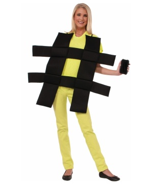 Hashtag Womens Costume