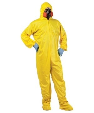 Hazmat Suit Adult Unisex Costume