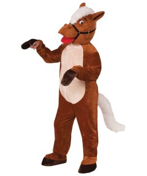 Henry the Horse Mascot Adult Costume