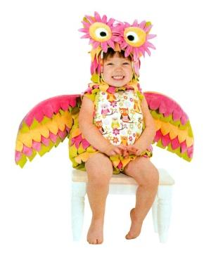Hootie Owl Baby/ Girl Costume