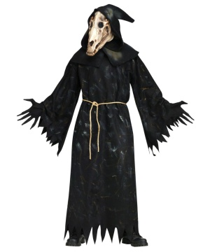Horse Skull Demon Mens Costume deluxe