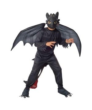 How To Train Your Dragon Toothless Boys Costume