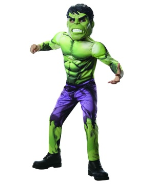 Hulk Boys Costume