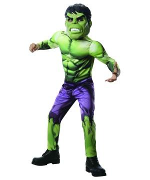 Hulk Boys Costume