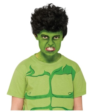 Hulk Kids Wig