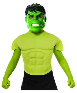 Hulk Top Boys Costume