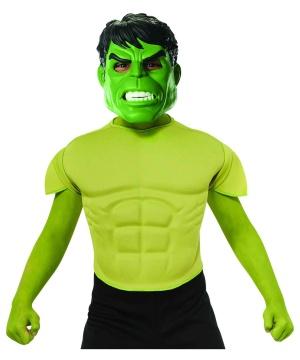 Hulk Top Boys Costume