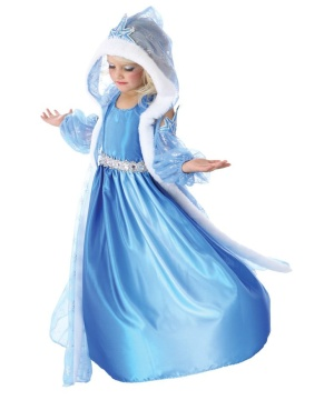 Icelyn Winter Princess Girls Costume