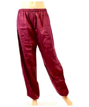 Woman Yoga Pants Ladies Long Cotton Pants With Elastic Waistband