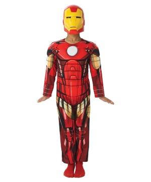 Iron Man Boys Costume