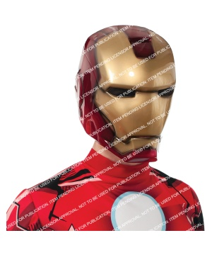 Iron Man deluxe Mens Mask