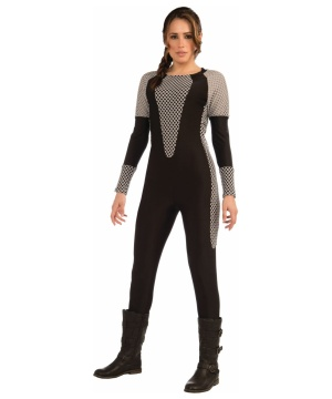 Jumpsuit Grey Women Costume