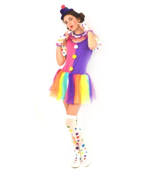 Just Clowning Around Womens Costume deluxe