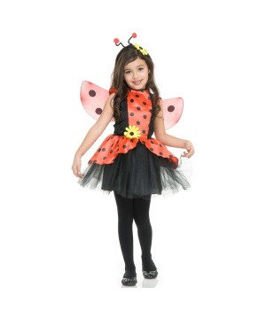 Lady Bug Toddlers/girls Costume