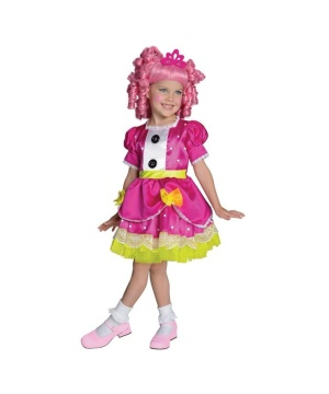 Lalaloopsy Jewel Sparkles Girls Costume deluxe