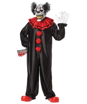 Last Laugh Dark Clown Costume