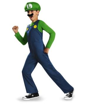Luigi Boys Classic Costume