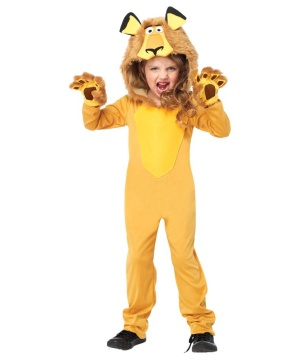 Madagascar Alex the Lion Kids Costume