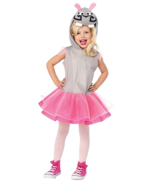 Madagascar Gloria the Hippo Girls Costume