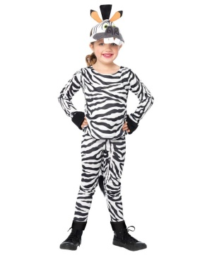 Madagascar Marty the Zebra Kids Costume