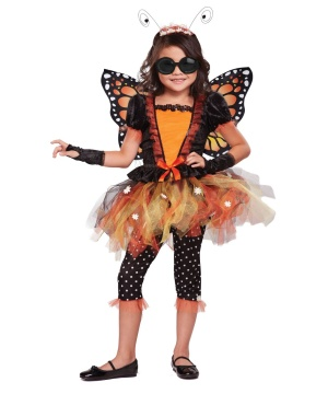 Magnificent Monarch Tutu Girls Costume