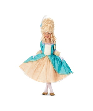 Marie Antoinette Dress Girls Costume