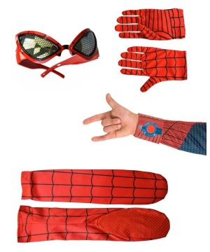 Superhero for a Day Accessory Kit Spider Man