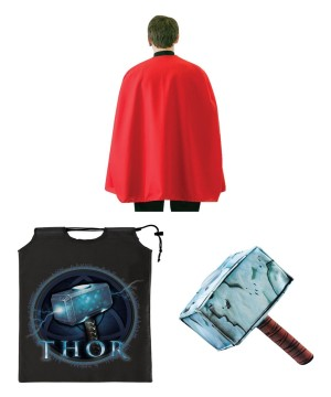Marvel Superhero Thor Boys Costume Accessory Kit