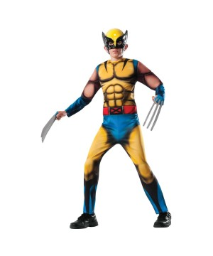 Marvel Wolverine Boys Costume deluxe