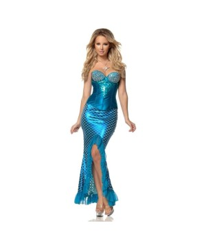 mermaid womens costume