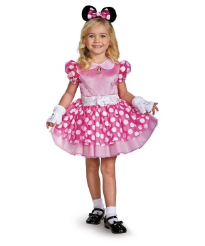 Minnie Mouse Girls Costume