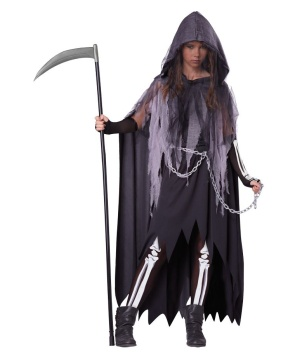 Miss Reaper Tween Costume