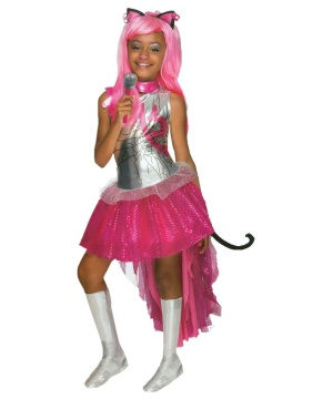 Monster High Catty Noir Girls Costume