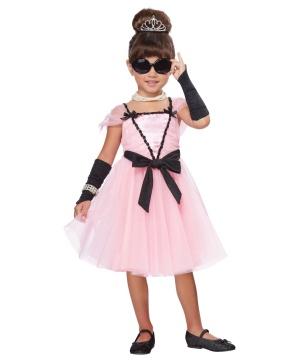 Movie Star Glamour Toddler Costume