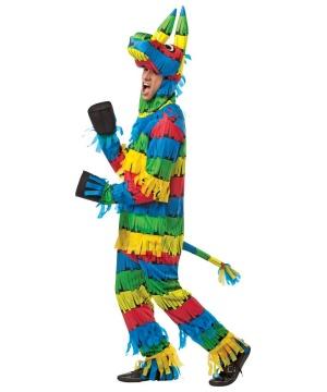 Multicolor Pinata Unisex Costume