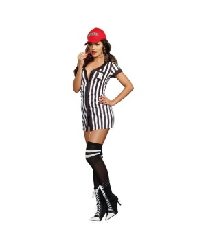 My Game My Rules Sexy Referee Womens Costume