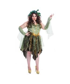 Mystical Medusa Womens plus size Costume