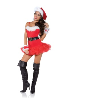 Naughty Christmas Womens Costume