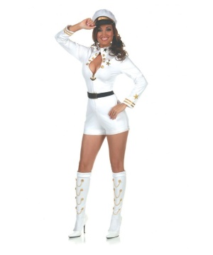 Navy Commander Womens Costume