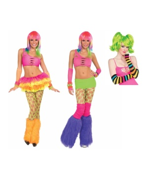 Neon Afterglow Costume Kit