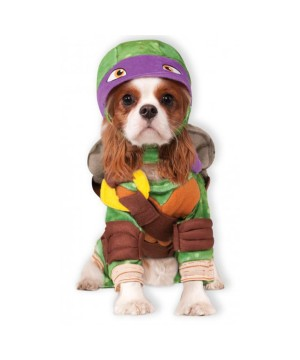 Ninja Turtles Donatello Pet Dog Costume