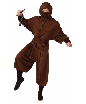 Ninja Warrior Mens Costume