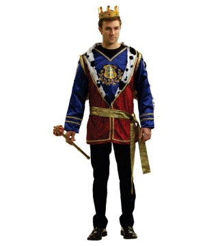 Noble King Men Costume