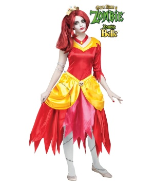 Once Upon a Zombie Belle Womens Costume