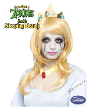 Once Upon a Zombie Sleeping Beauty Wig