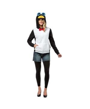 Penguin Adult Hoodie