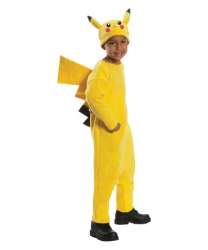 Pikachu Pokemon Boy's Costume