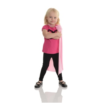 Pink Toddler Cape