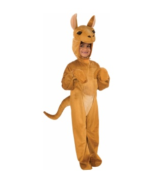 Plush Kangaroo Boys Costume