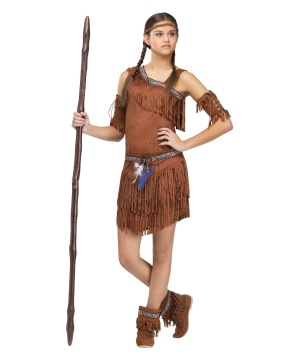 Pow Wow Indian Teen Costume